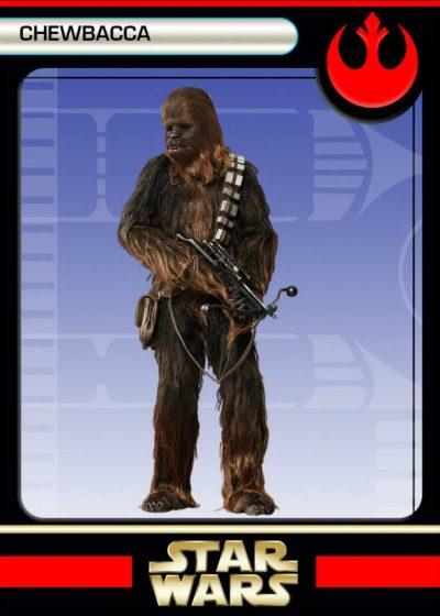 back Chewbacca
