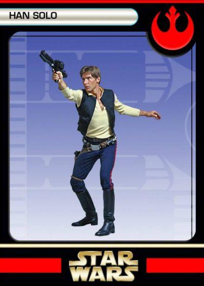 back Han Solo