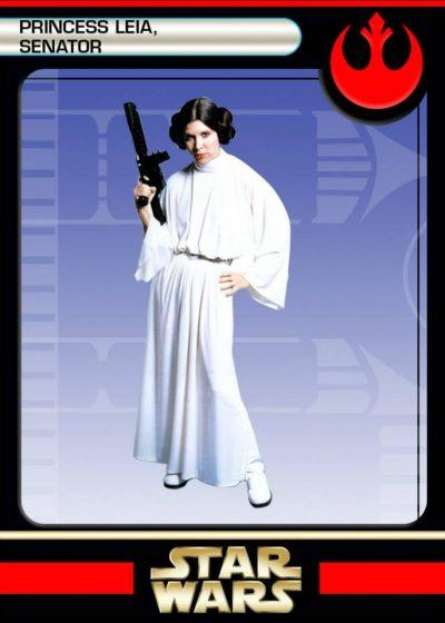 back Princess Leia