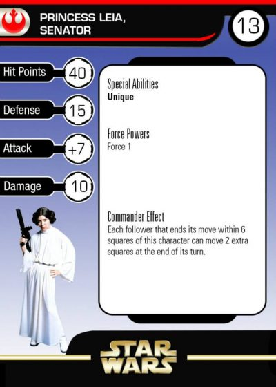 front Princess Leia